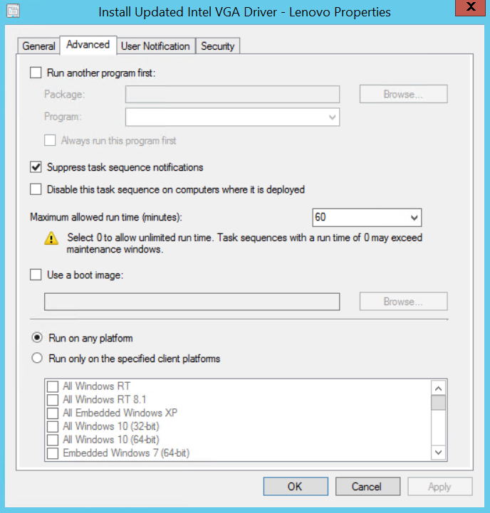 Deploy Intel Drivers With ConfigMgr After OSD Using DPInst